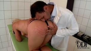 Kathia Nobili Doctor's Strange Therapy Handjob 1