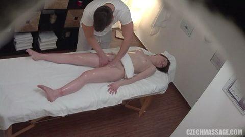 Czechmassage Large Breasts Massage Beautiful Girl Getting A Sex Mass