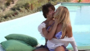 Show Me Your Pussy Nicole Aniston Poolside Story