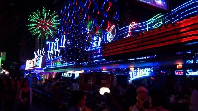 Soi Cowboy, Sukhumvit Road Night in Thailand