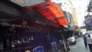 Soi Cowboy, Sukhumvit Road in Thailand