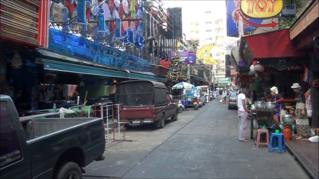 Soi Cowboy, Sukhumvit Road 2 in Thailand