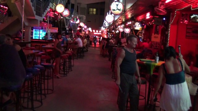Bangla Road Walking Street Patong Phuket Thailand