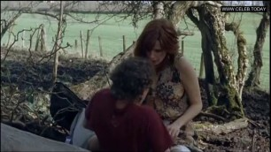 Naked Kelly Reilly Outdoor Sex Scene Topless Puffball (2007)