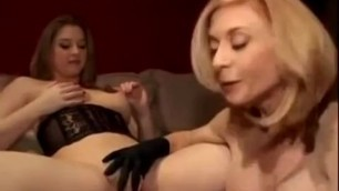 Nina Hartley And Sunny Lane Demonstrate Tits