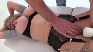 Lady Sonia Bdsm And Forced Orgasms With A Stranger
