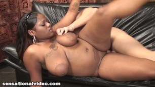 Stacey Sweets is a beautiful black bbw hot fucked