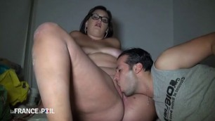 This chubby Nude BBW slut has her pussy nailed