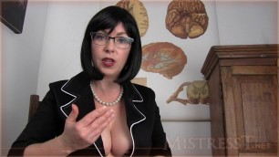 Mistress T Premature Ejaculation Therapy Part 1