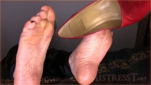 Mistress T Feet Dork Humiliated