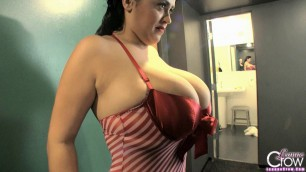 Free Bbw Sex Videos Leanne Crow Christmas Pinup 1