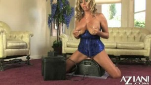 Amber Lynn Bach Aziani banging Machine