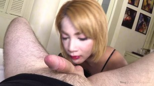 [LadyboyGold.com] Ning 2 - Ass to Mouth Creampie Cumeater