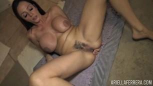 Tit Fucking Mom Ariella Ferrera Stuffed In Both Ends