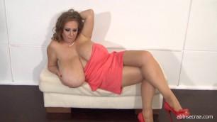 Abbi Secraa Salmon Dress Bbw Girls With Big Tits