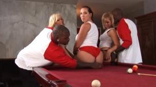 Kelly Divine 2 Black Cheerleader Orgy 2