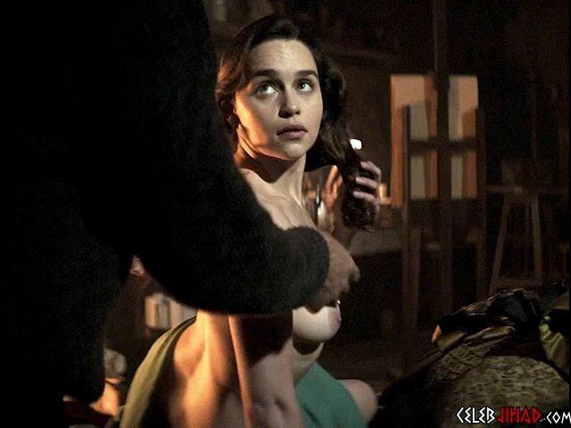 Clark porn emilia Emilia Clarke