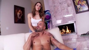 Bitch fucked in stockings with a strong ass Sara Lov