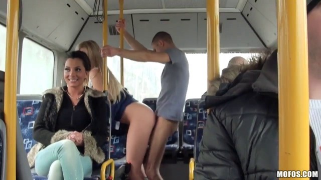 Fucked on a public bus