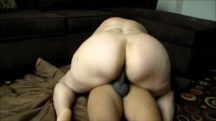 BBW wife blow big black cock