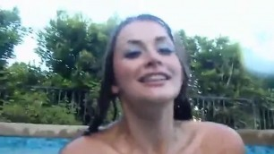 Sexy lesbians underwater hairy pussy