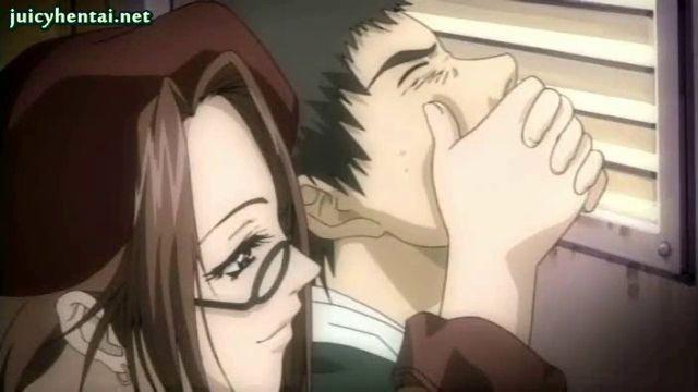 Anime hentai blowjob