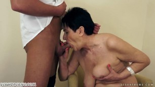 Mature mother loves her son and wants to suck his dick 21Sextreme