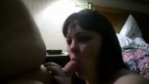 Horny bbw pretty wife motel huge dicks and facial