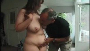 Big titted horny debbie bbw chelsi gets handyman assfuck