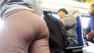 Sexy brown leggins horny bbw