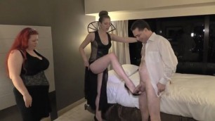 Ballbusting lesson lady bombshell victoria nyc and ms summer storm on andrea dipre busty matures