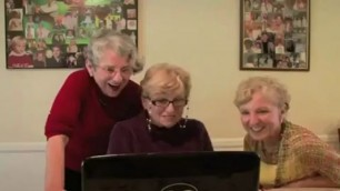 Grannies katarina react to big interracial huge cock