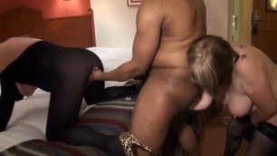 Double grannies kymberlee and a big interracial huge cock