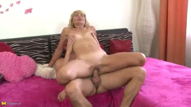Milf Maiden gently fucked from young lover