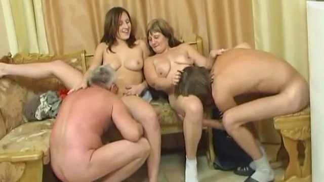Naked disco turns into an orgy 2