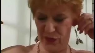 Hot Granny Laetitia Cheats Again