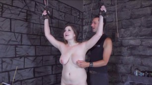Chained younger whipped