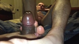 My straight man gives me a oral sex with cum