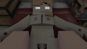 Minecraft alex fucking her pussy with cumshots