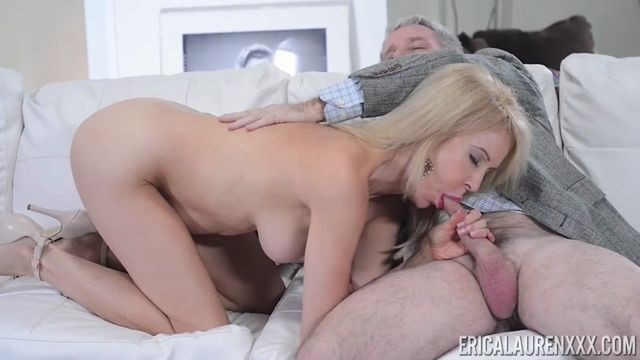 Mature Erica Lauren loves getting banged hard