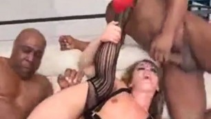 Sheena shaw vs black cock In her attracting juicy pussy