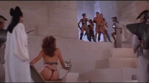 Tawny Kitaen nude in Gwendoline scene from the film