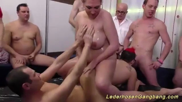Amazing Brunette Fiona Extreme Group Sex Fuck Party Orgy, Pollyanus-9603