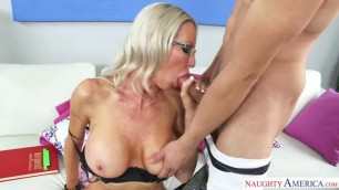NaughtyAmerica Emma Starr Bambino Sexy milf with an ideal body in My First Sex Teacher