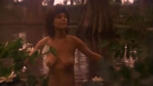 Adrienne Barbeau Celebrity Naked splashing in the lake