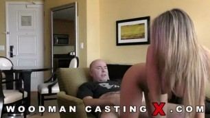 Kayla Pretty girl with huge elastic tits does anal