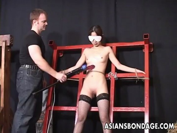 Skinny Asian Chick Ottilia In A Hot And Naughty BDSM Fuck In Bondage