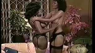 Ebony and Jeannie Pepper bare their bodies and caress each other
