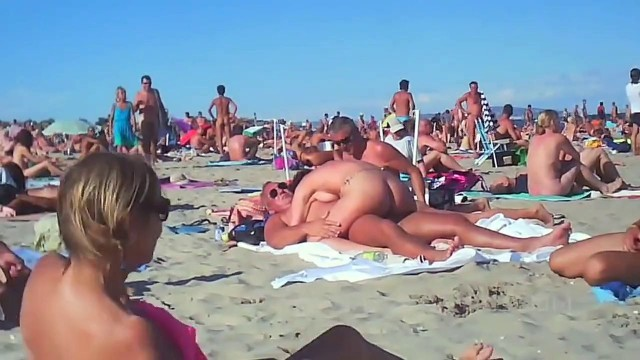 Free Nude Beach Sex