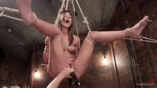 hogtied Rilynn Rae girl agrees to dominance over her body
